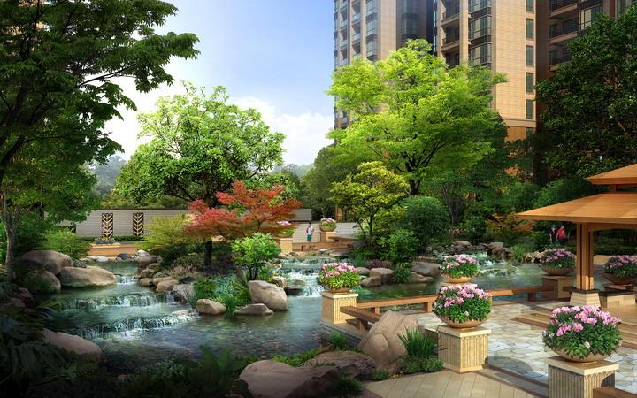 小区花园设计