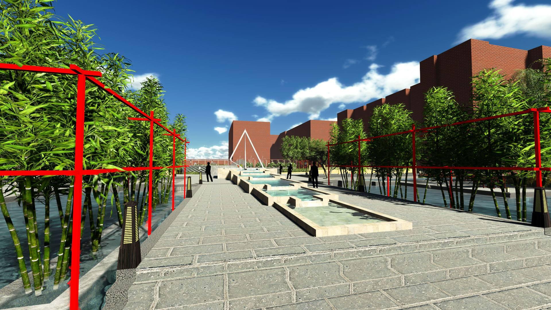 校区景观设计