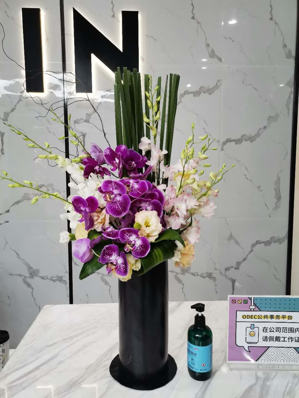鮮花盆栽4