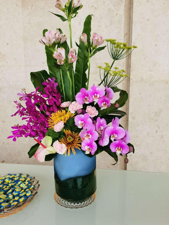鮮花盆栽3